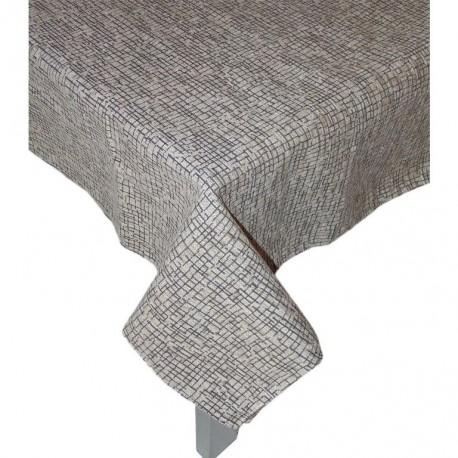 Copritavola Tovaglia rettangolare 6 posti Cocco grigio