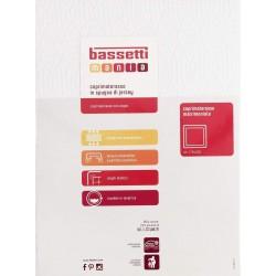 Copri materasso 2 piazze Bassetti in spugna elasticizzata