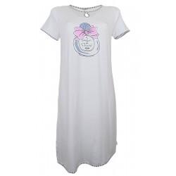 Camicia da notte estiva donna Ragno N12477