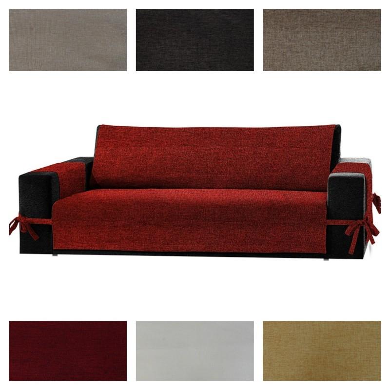 Salvadivano copridivano per poltrona e divano live it - Copridivano per divano angolare con cuscini fissi ...