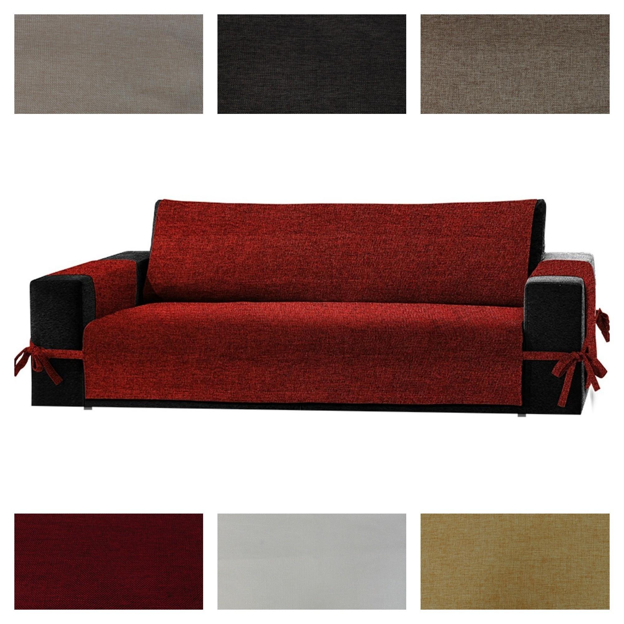 Copridivano per divano in pelle excellent divano verde - Copridivano per divano in pelle ...