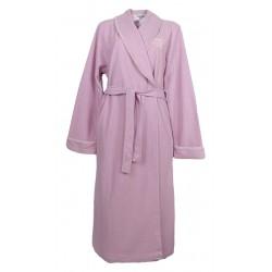 Vestaglia donna Invernale sciallata con cintura NoidiNotte rosa