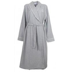 Vestaglia donna Invernale sciallata con cintura NoidiNotte grigio