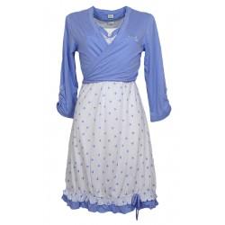 Camicia da notte donna Diben con coprispalle Moon