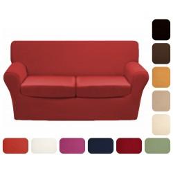 Copridivano per divano 2 posti Adera' Maison Nature tinta unita