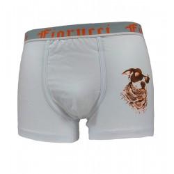 Boxer Parigamba uomo Fiorucci bianco arancio