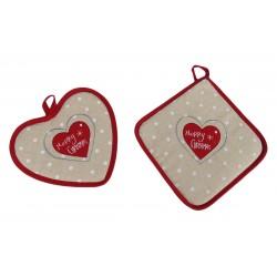 Due presine Idea di regalo Natale Beige