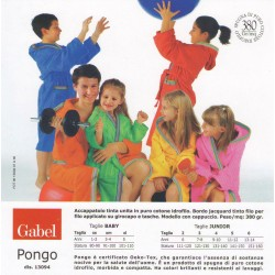 Accappatoio Gabel in spugna bambino / a Pongo