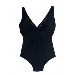 Costume donna Intero Panarea Beach TAGLIE FORTI 251 nero
