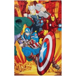 Plaid coperta in pile cm 100 x 140 Marvel Avengers
