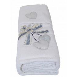 Un Asciugamano e Un ospite bagno spugna Creazioni Quarrata