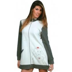 Vestaglia Donna in maglia punto milano invernale Piccoli Segreti Mosca