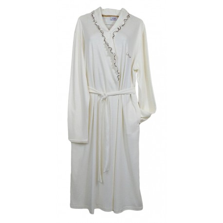 Vestaglia Donna invernale Sciallata in caldo cotone Piccoli Segreti Imma