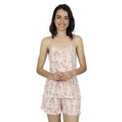 Pigiama estivo corto donna Admas Classic in viscosa 54199