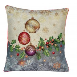 Cuscino arredo con imbottitura Karì Palline di Natale
