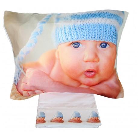 Completo lenzuola digitale Lettino Culla cotone coccolone
