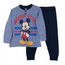 Pigiama Bambino in cotone Sabor Topolino Mickey Mouse azzurro