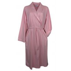 Vestaglia sciallata donna con cintura in cotone Noi Di Notte 90 AS rosa