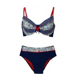 Costume mare Bikini 2 pezzi donna Capri Mare Campanile 187