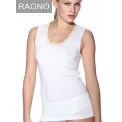 Canottiera maglia intima Ragno 100 merino spalla larga