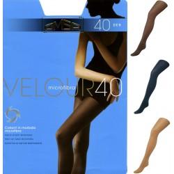 Collant calza Omsa Velour 40 den microfibra