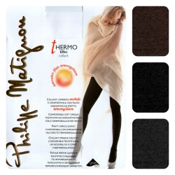 Collant Philippe Matignon thermo effect calza invernale