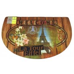 Zerbino ingresso casa gommato antiscivolo Eiffel