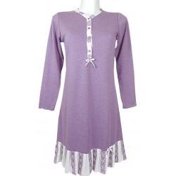 Camicia da notte caldo cotone Tentazioni Folli 4602