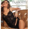 Sottogiacca micromodal tulle pizzo Tramonte Top Class