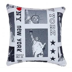 Cuscino arredo quadrato new york