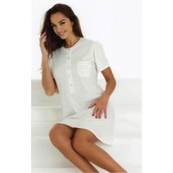 Camicia Da Notte donna Vilfram 7269 cotone panna