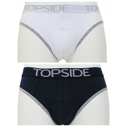 Slip mtanda uomo in cotone elastico TOP SIDE tinta unita TM206