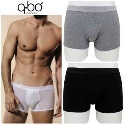 due boxer aderenti uomo QBO' in cotone BCE8201Q