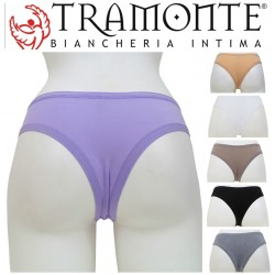 Brasiliana in Micromodal TRAMONTE made in Italy