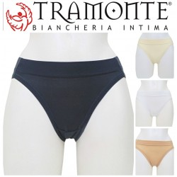 Slip in Micromodal liscio INVISIBILE marchio TRAMONTE S.716