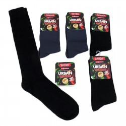 1 paio di calzini UOMO lunghi caldo cotone RAGNO