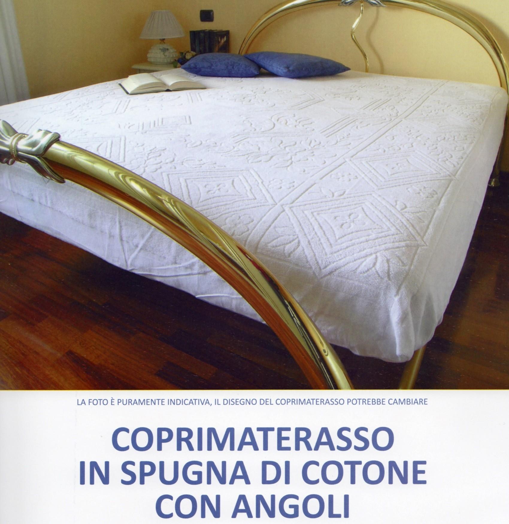 I Pooh Materassi.Coprimaterasso 2 Piazze Traversa Spugna Jacquard Fodera Materasso