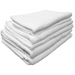 12 asciugamani viso in spugna